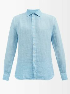Off-white - Logo Hooded Twill Jacket - Mens - Black
