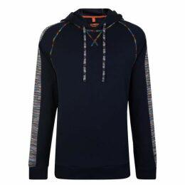 Missoni Stripe Sleeve Hooded Sweatshirt