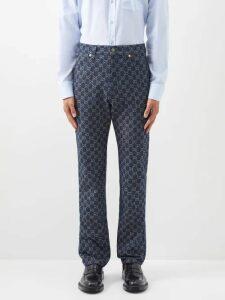 Onia - Carter Linen Trousers - Mens - Navy