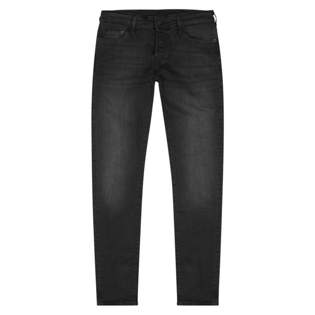 True Religion Tony Trueflex Charcoal Skinny Jeans