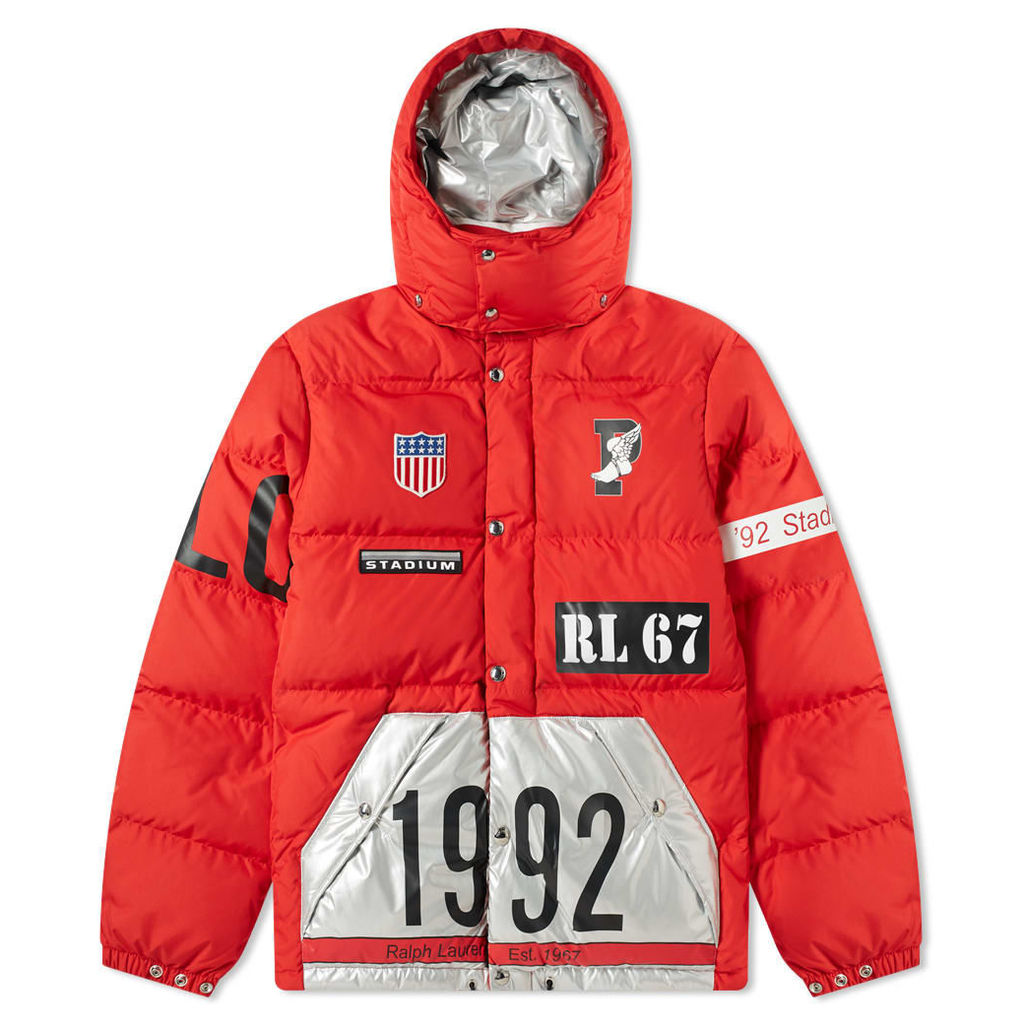 Polo Ralph Lauren Hawthorn Jacket Injection Red & Silver