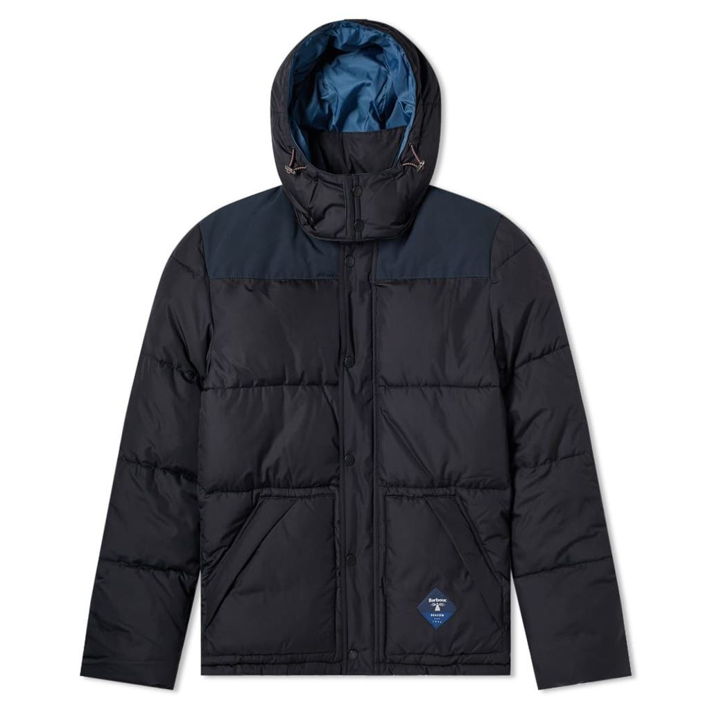 Barbour Mill Down Quilt Jacket Navy
