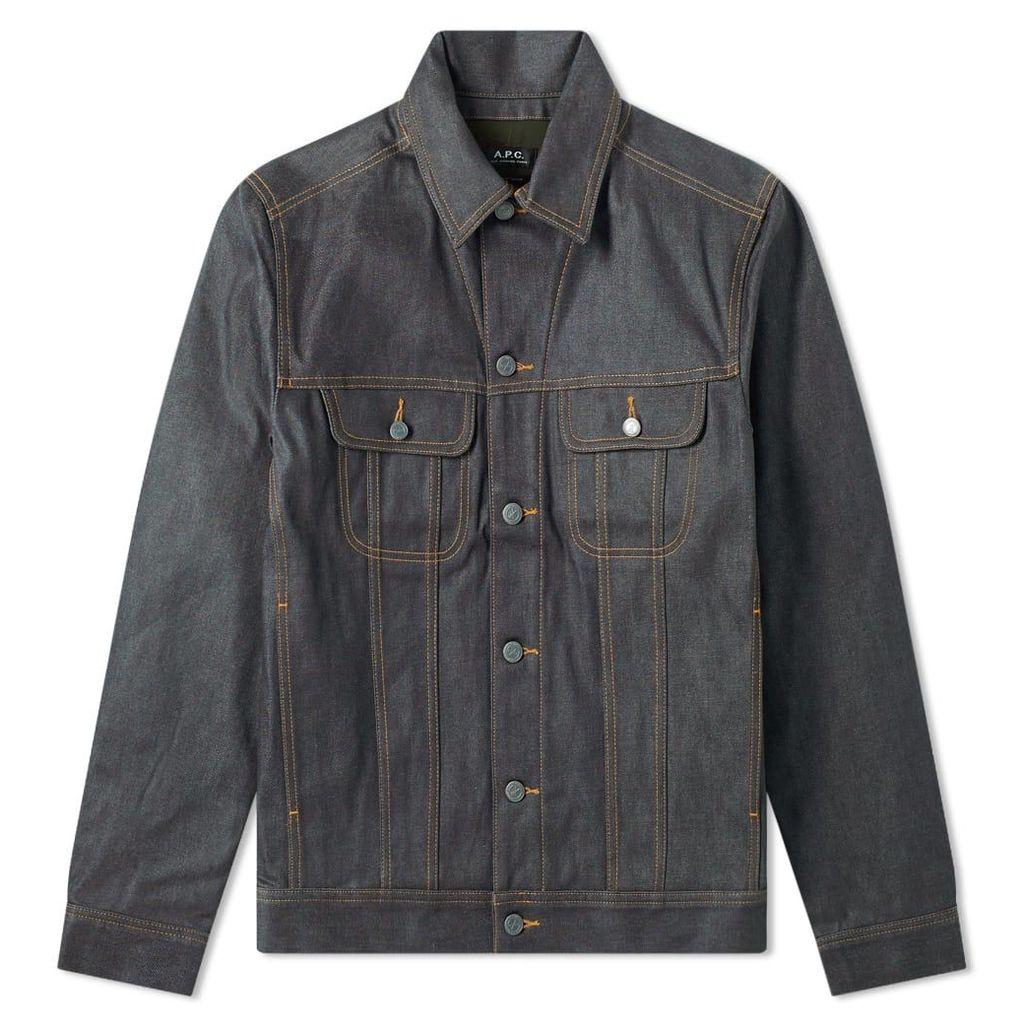 A.P.C. Rick Denim Jacket Indigo