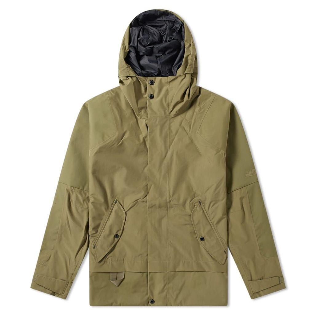 The North Face Black Series Urban Cordura Dryvent Jacket Burnt Olive Green