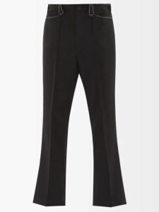 P. Le Moult - Cotton Lounge Trousers - Mens - Navy