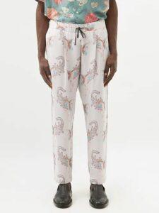 7 Moncler Fragment - Cotton Hooded Sweatshirt - Mens - Black