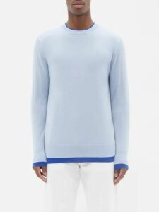 Alexander Mcqueen - Slim Leg Wool Blend Trousers - Mens - Red