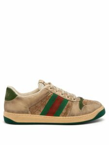 Valentino - Vltn Logo Print Cotton Blend Sweatshirt - Mens - Grey