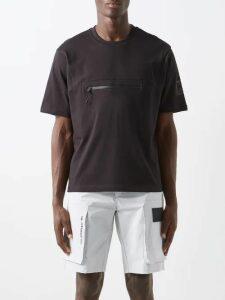 Valentino - Vltn Logo Print Cotton Blend Sweatshirt - Mens - Black