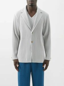 7 Moncler Fragment - Logo Patch Cotton Track Pants - Mens - Black