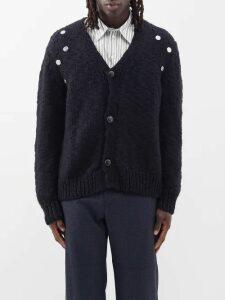 Givenchy - Logo Biker Pants - Mens - Black Red