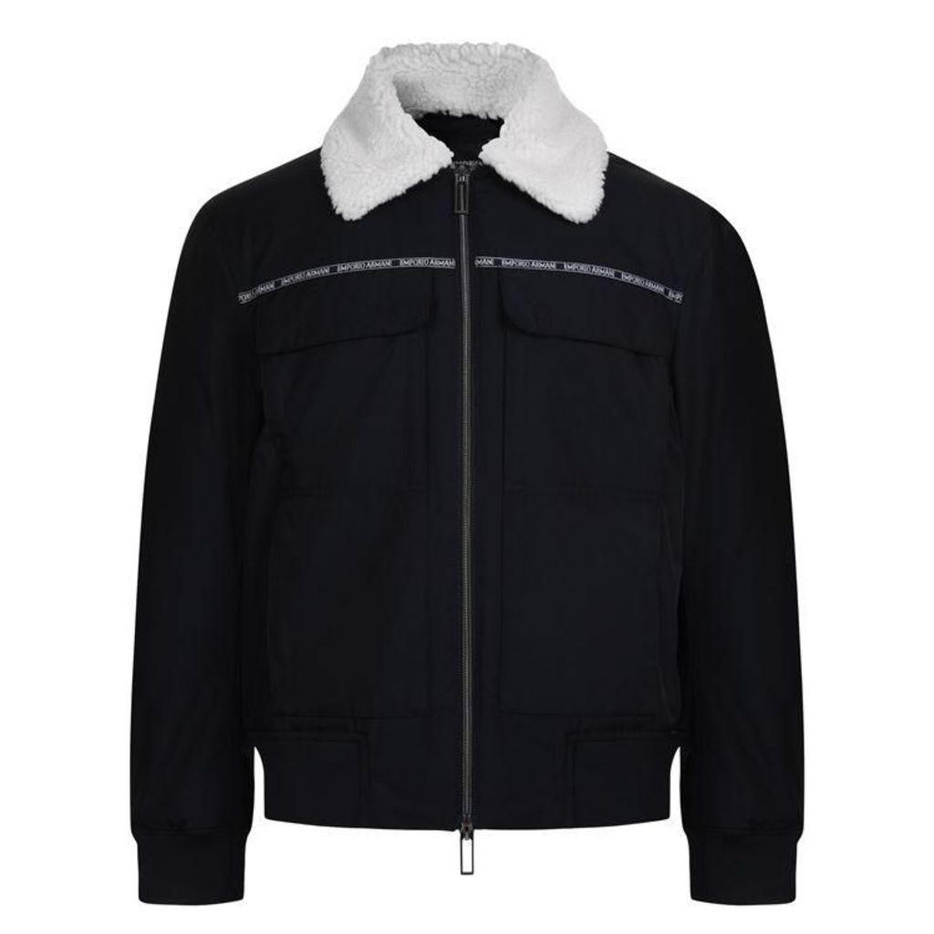 EMPORIO ARMANI Tape Nylon Jacket