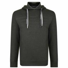 Emporio Armani Stitch Logo Hooded Sweatshirt