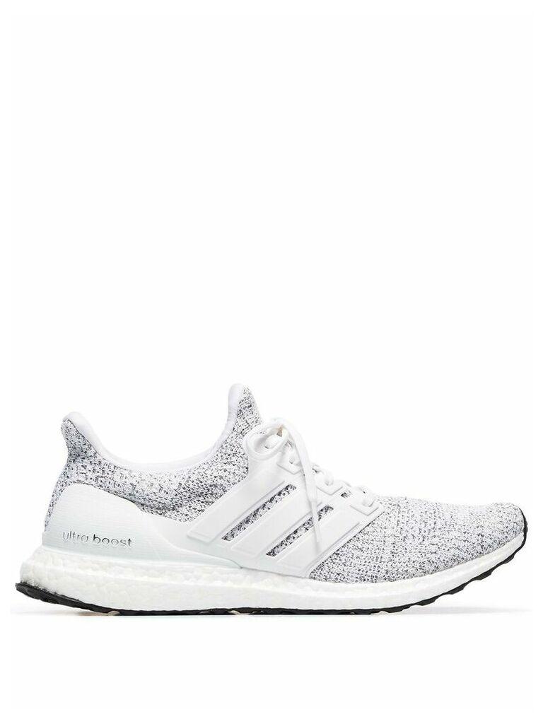 Adidas grey Ultraboost low top sneakers