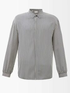 J.w. Brine - Daryl 76 Cotton Blend Fatigue Trousers - Mens - Navy