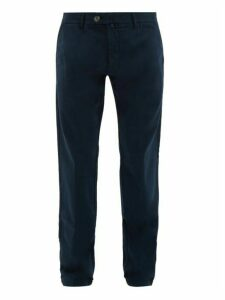 J.w. Brine - James Cotton Blend Chinos - Mens - Navy