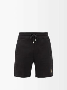 The Elder Statesman - Palm Tree Embroidered Cashmere Sweater - Mens - Grey