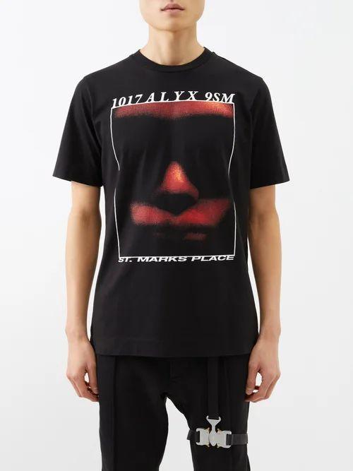 Ami - Point Collar Denim Jacket - Mens - Denim