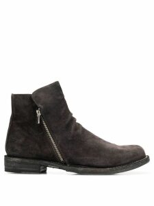 Officine Creative Ikon zipped ankle boots - Grey