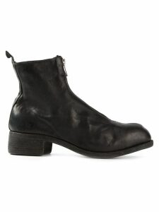 Guidi front zip boots - Black