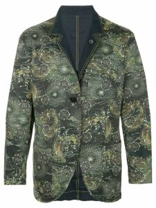 Issey Miyake Pre-Owned Cyber print jacket - Multicolour