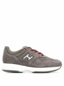 Hogan Interactive lace-up sneakers - Grey