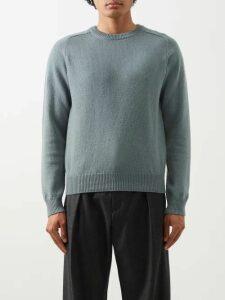 A.p.c. - Mathis Point Collar Denim Jacket - Mens - Indigo