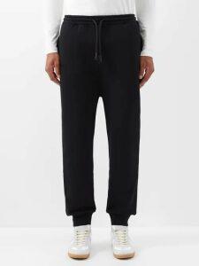 Versace - Logo Jacquard Track Jacket - Mens - Black Blue