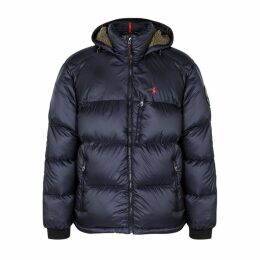 Polo Ralph Lauren Navy Quilted Shell Jacket