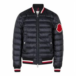 Moncler Deltour Quilted Shell Bomber Jacket