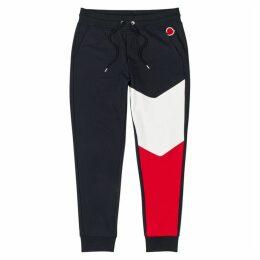 Moncler Colour-block Cotton Sweatpants