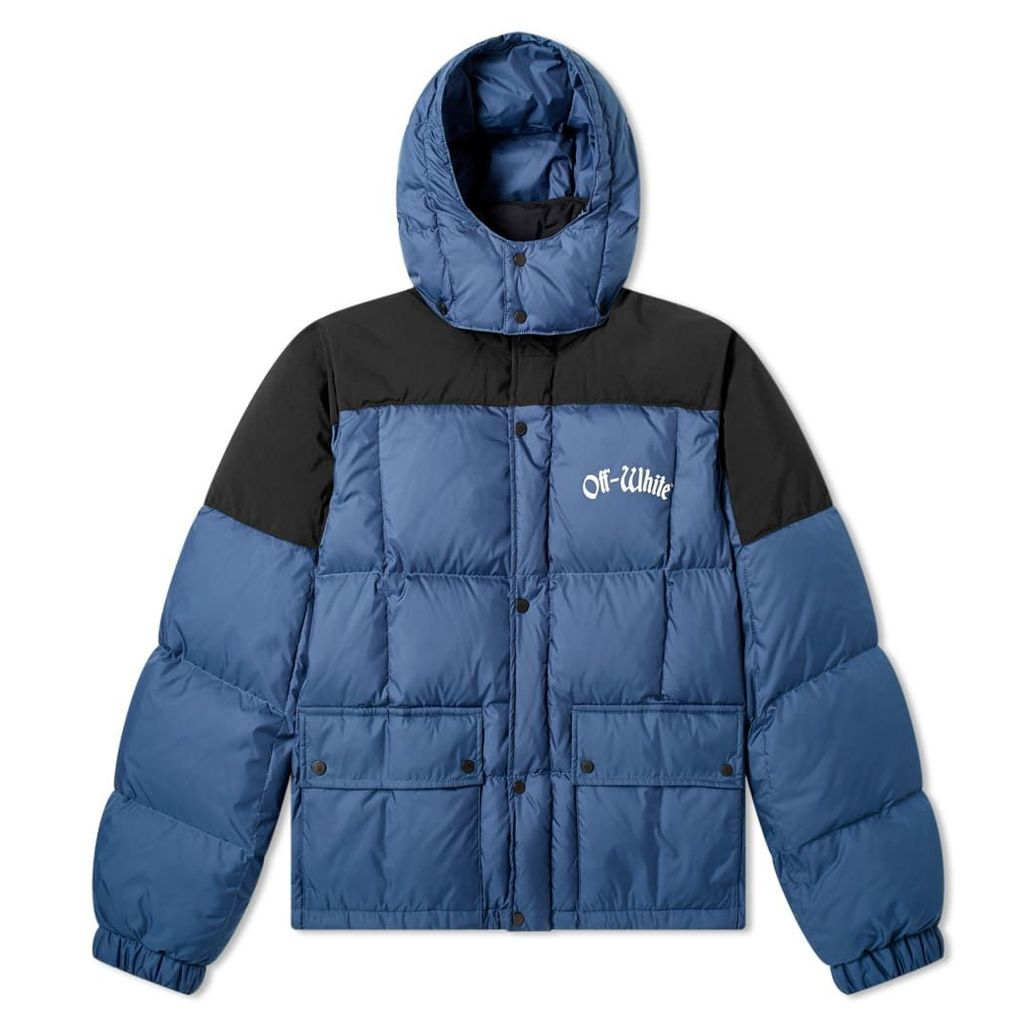Off-White Ski Puffer Jacket Blue