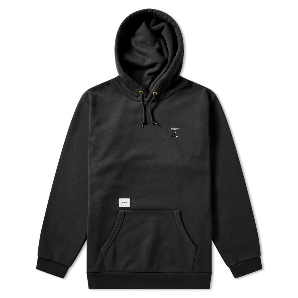 WTAPS Crack 02 Hoody Black