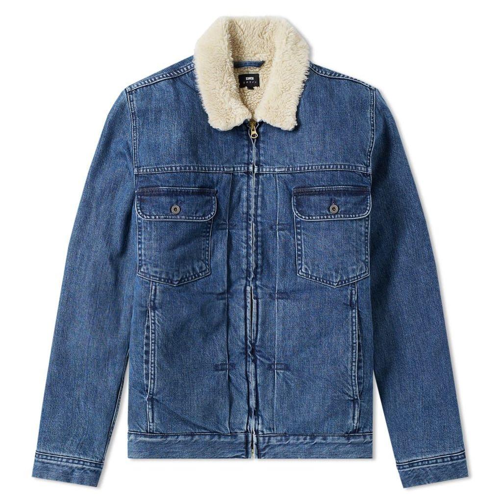 Edwin Panhead Zip Jacket Mid Stone