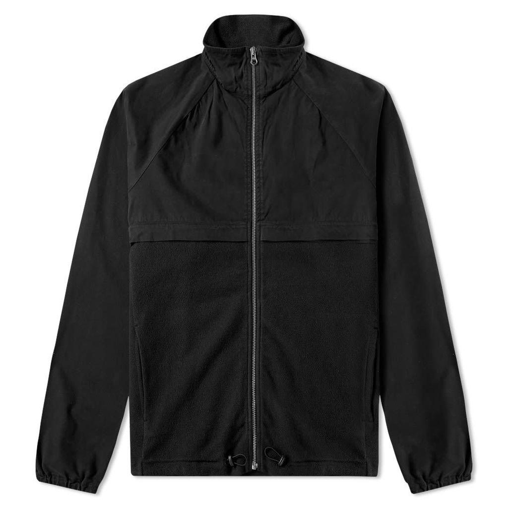 Les Basics Le Wind Cheater Jacket Black
