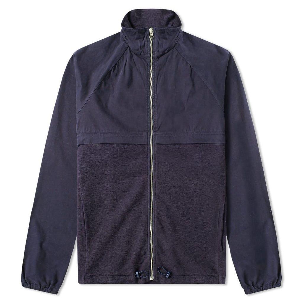 Les Basics Le Wind Cheater Jacket Navy