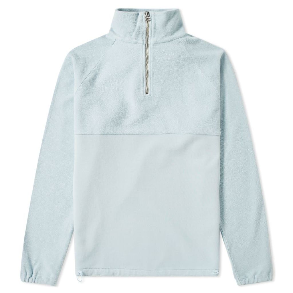 Les Basics Le Zip Toggle Sweat Sky
