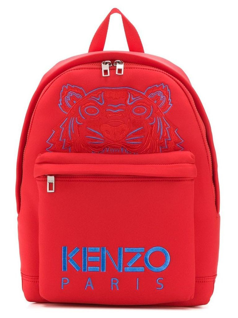 Kenzo large Tiger backpack - Red