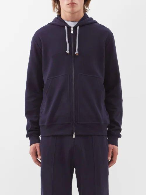 P. Johnson - Linen Shirt Jacket - Mens - Navy