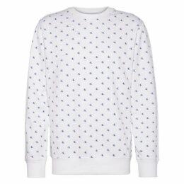 Calvin Klein Jeans Mono AOP Crew Sweatshirt