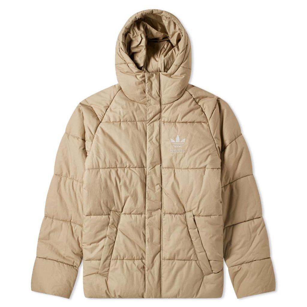 Adidas Superstar Down Jacket Cargo Khaki