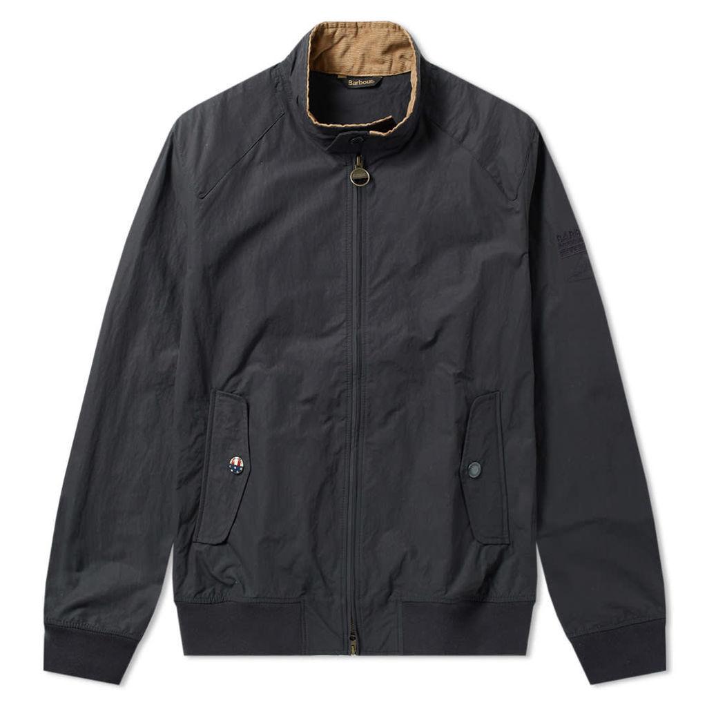 Barbour Steve McQueen Rectifier Harrington Casual Jacket Navy