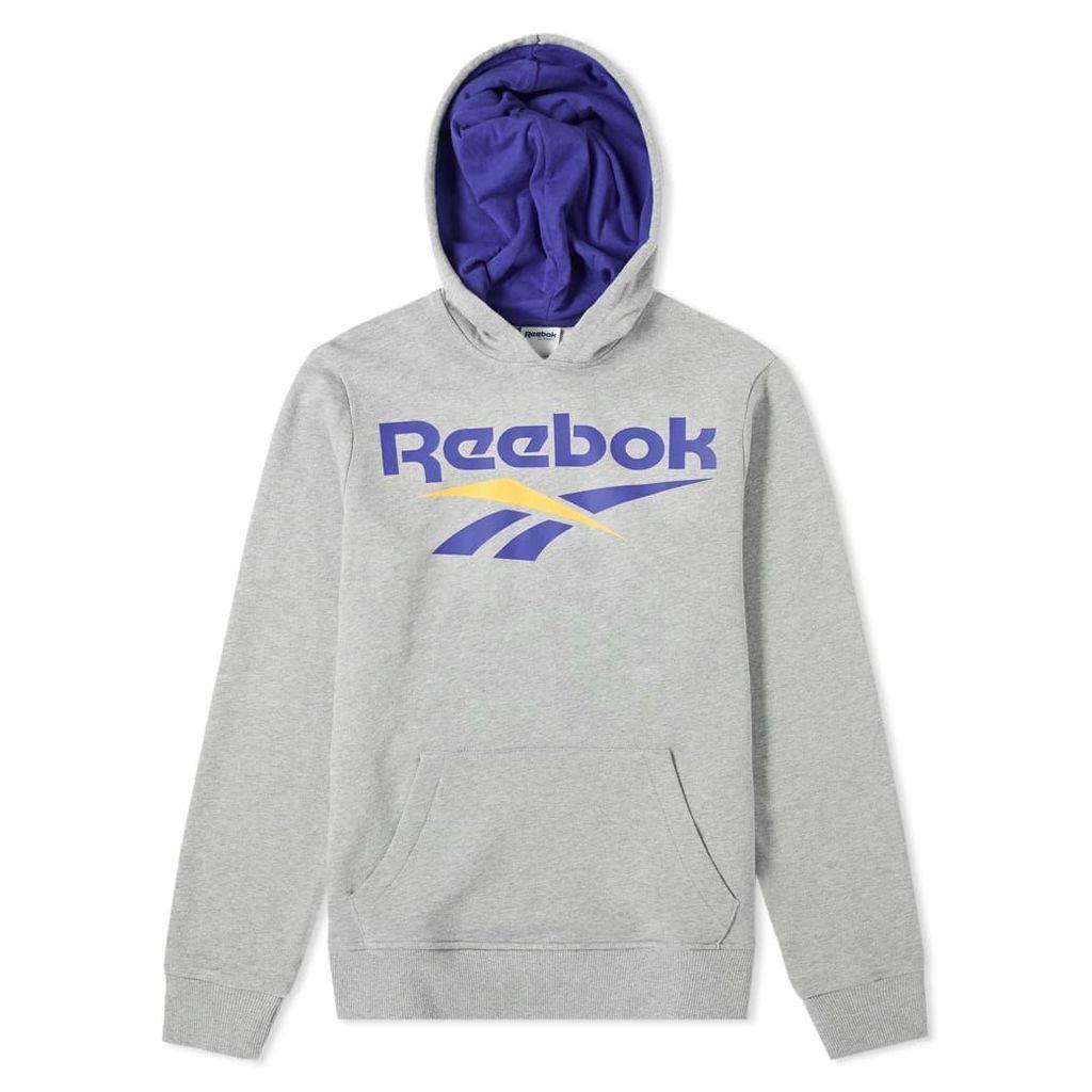 Reebok Vector Hoody Grey