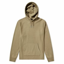 Belstaff Padox Popover Logo Hoody Green Taupe
