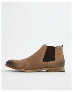 ALDO Albiston chelsea boots in beige suede