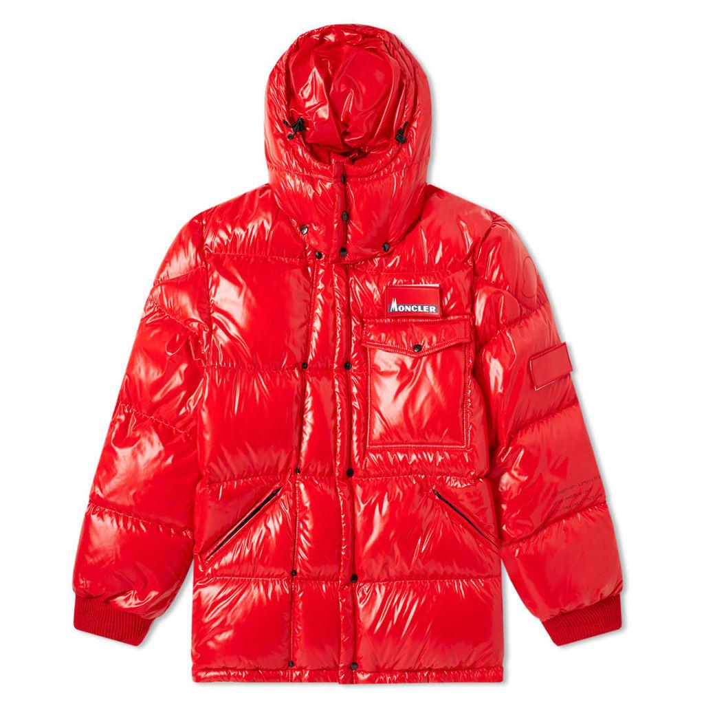 Moncler Genius - 7 Moncler Fragment Hiroshi Fujiwara - Anthem Jacket Red