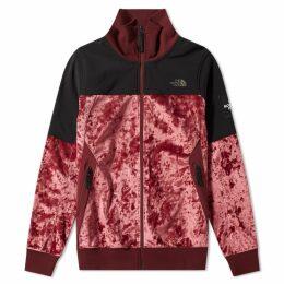 The North Face Black Series City Velvet Track Jacket Regal Red