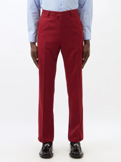 Quoddy - Classic Suede And Leather Boat Shoes - Mens - Brown