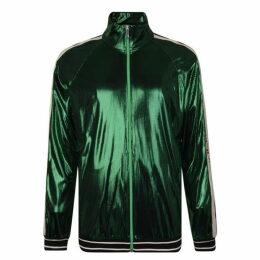 Gucci Oversized Laminated Jacket