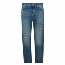 McQ Alexander McQueen Ben Distressed Jeans